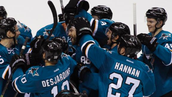 Sharks Win In Comeback