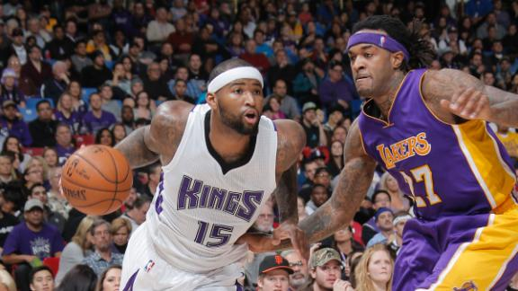 Kings pull away from Lakers late, snap skid