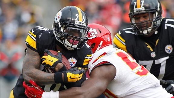 Le'Veon Bell On Tough Game Against Chiefs