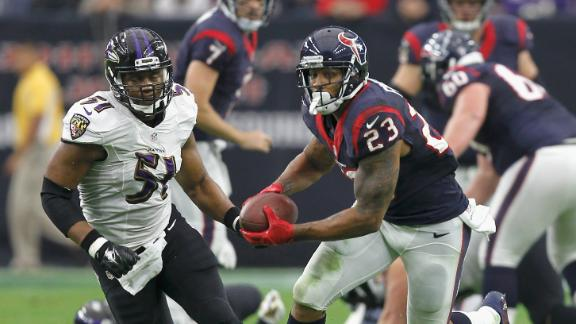 Texans Cruise As Flacco Struggles