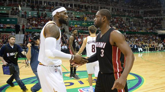 Wade Hopes For Positive Reception For LeBron