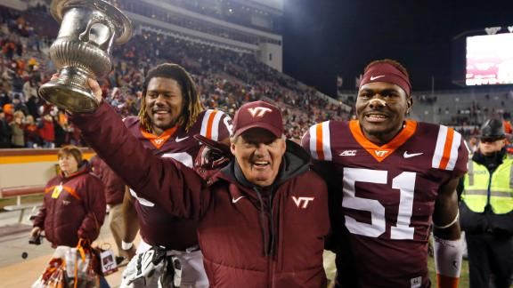 Will Beamer Coaching From The Booth Impact Virginia Tech?