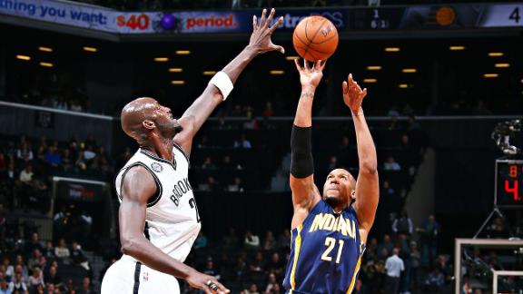Pacers Pull Away From Nets