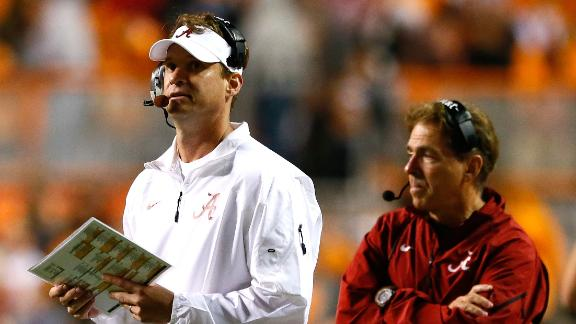 Kiffin to remain Bama OC, won't jump to NFL