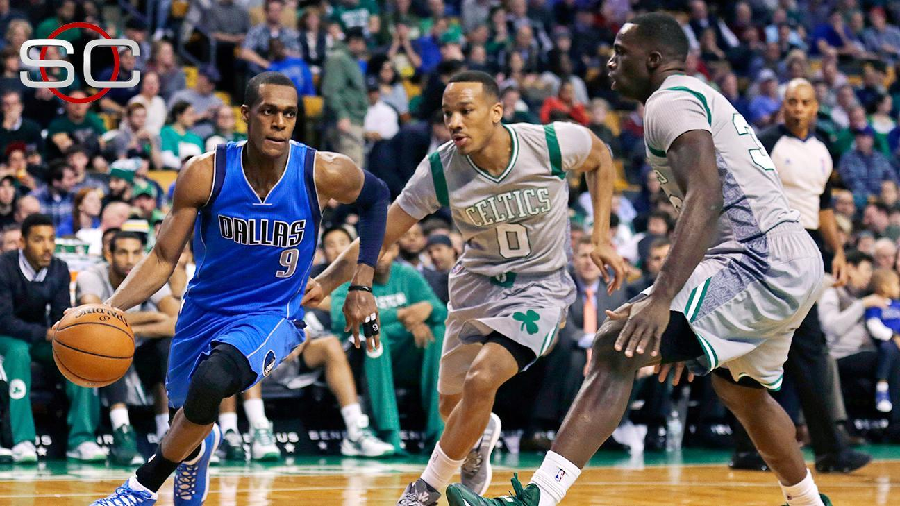Mavs Win In Rondo's Return To Boston