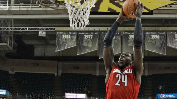Harrell's Big Night Fuels Louisville