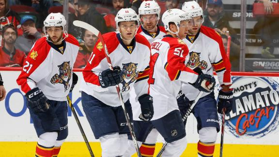 Video - Panthers Slip Past Flames