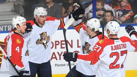 Video - Panthers Take Down Oilers