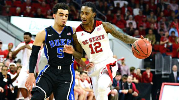 NC State Shocks No. 2 Duke