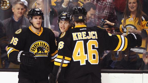 Video - Pastrnak's Two Goals Lift Bruins