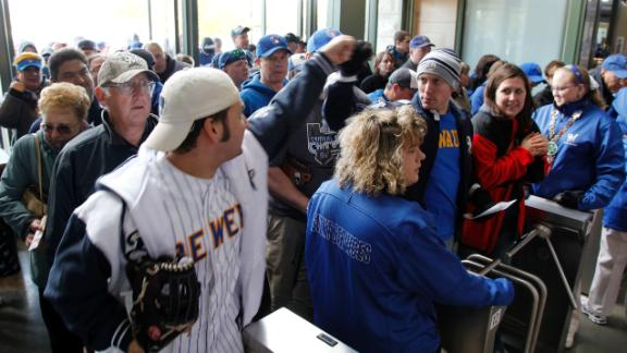 Video - Brewers Giving Fans Unique Ticket Option