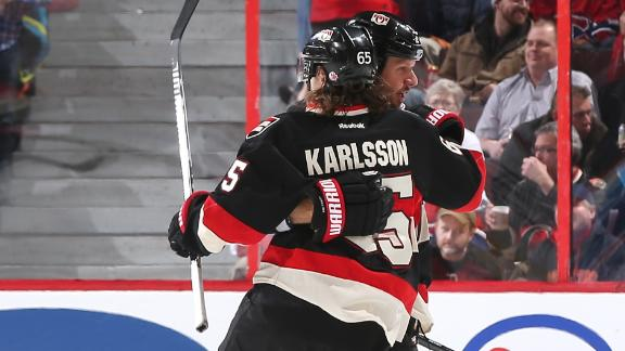 Video - Senators Skate Past Canadiens
