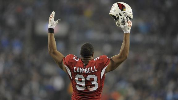 Calais Campbell Excited About The Pro Bowl