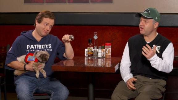 Caliendo Channels His Inner Rex Ryan For A Sit-Down With Bill Belichick