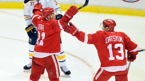 Video - Zetterberg's Hat Trick Fuels Red Wings