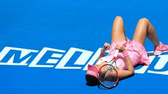 Hradecka Talks Win Over Ivanovic