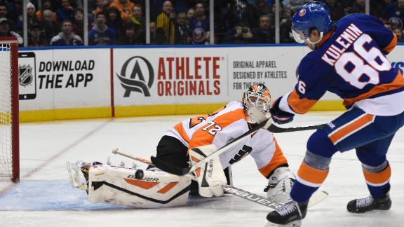 Video - Kulemin, Islanders Win Big Over Flyers