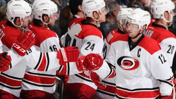 Video - Hurricanes Blow By Maple Leafs