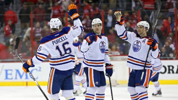 Video - Oilers Top Capitals In Shootout