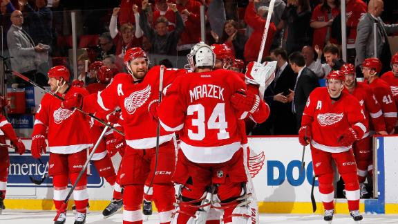 Video - Red Wings Win Fifth Straight