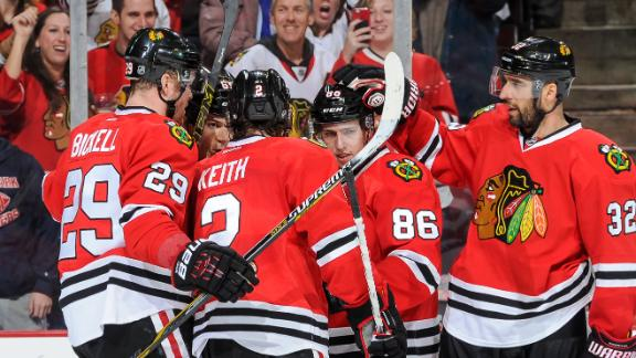 Video - Blackhawks Skate Past Coyotes