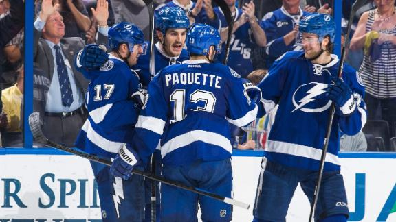Video - Lightning Strike Canucks