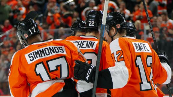 Video - Flyers Need OT To Top Penguins