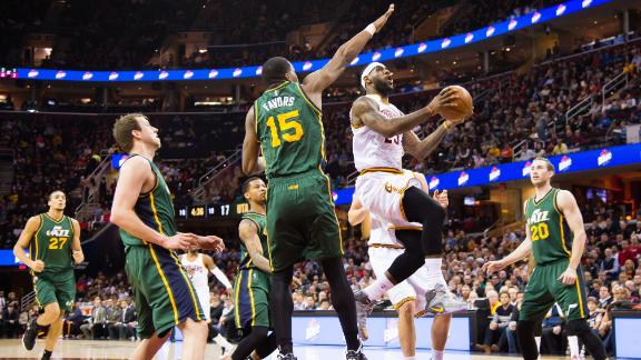 Cavs Crush Jazz For Fourth Straight Win