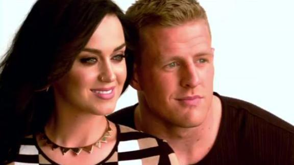 Katy Perry And J.J. Watt On Top Of Their Games
