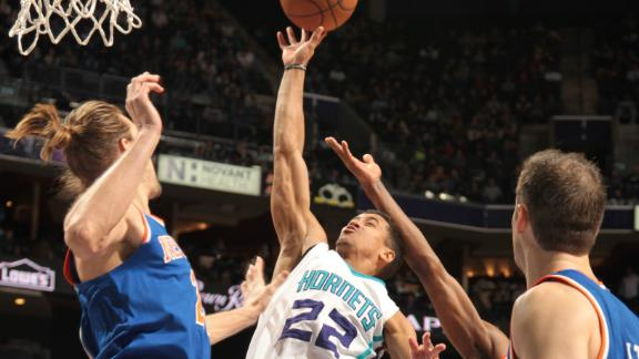 Hornets Hold Off Knicks