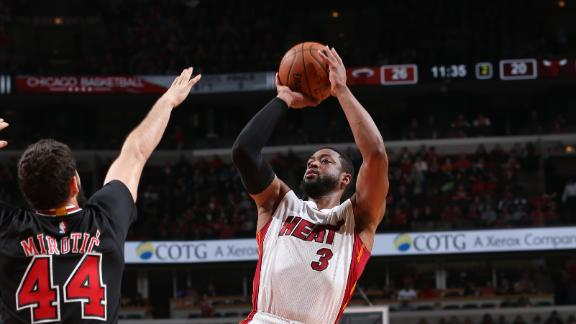 Video - Heat Overpower Bulls