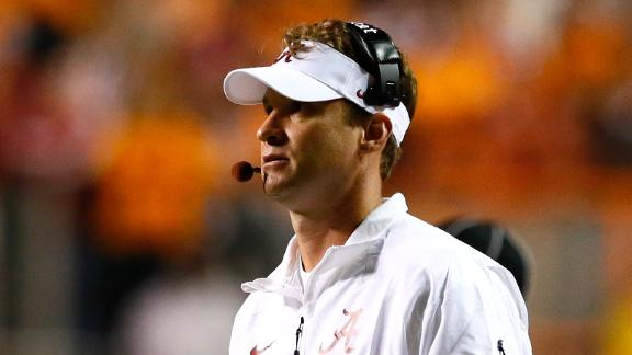 Lane Kiffin Returning As Alabama OC