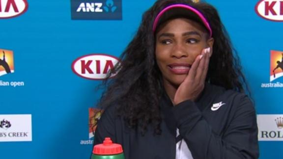Serena: 'I Would Love To Be A Linebacker'