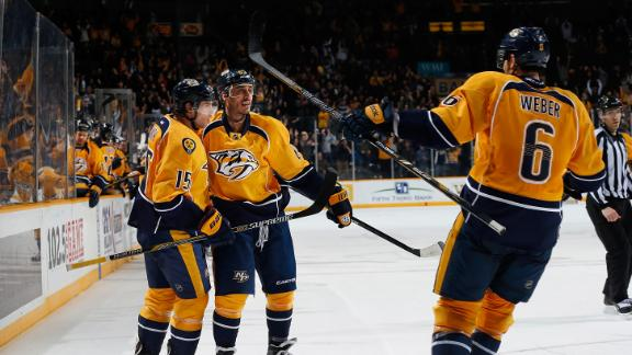 Predators Top Avs In OT