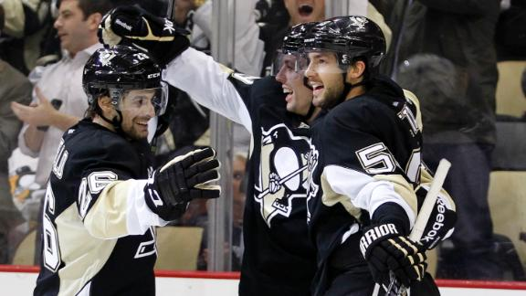 Video - Penguins Break Jets' Win Streak