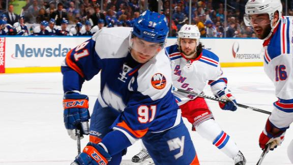 Video - Islanders Cruise Past Rangers