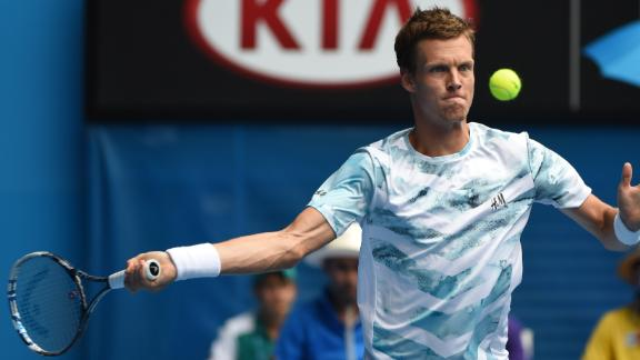 Berdych: 'Really Happy With How I Played'