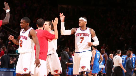 Knicks Topple Thunder