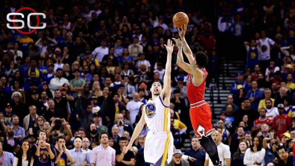 Warriors Fall To Bulls In OT, Streak Snapped