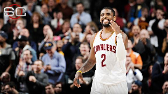 Kyrie Drives For 55 In LeBron's Absence