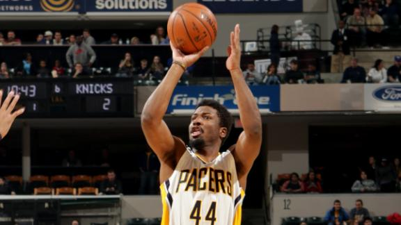 Pacers Top Knicks