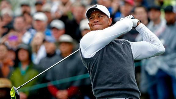 Tiger Out At Waste Management Open