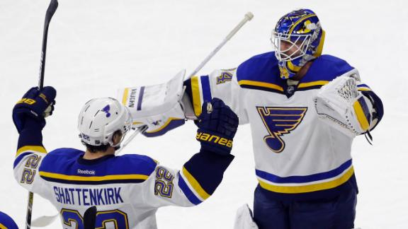 Video - Blues Win In Shootout