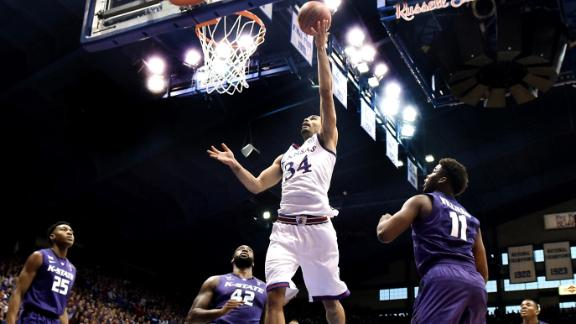 Jayhawks Defeat In-State Rival Wildcats