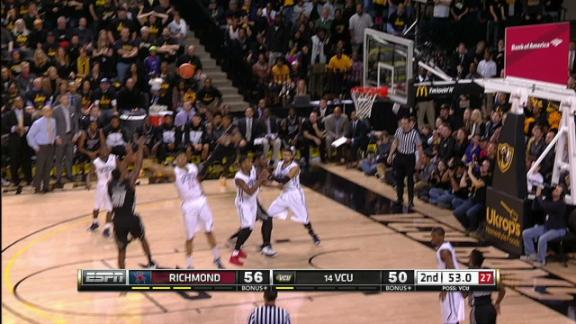 2H VCU T. Graham made Jumper.