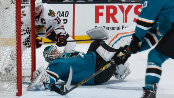 Video - Sharks Shut Out Blackhawks
