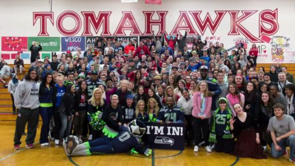 Seahawks' Family Grows After Tragedy