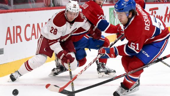 Video - Coyotes Rally Past Canadiens
