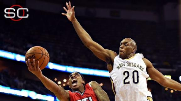 Hawks' 19-game win streak halted in loss to Anthony Davis ...