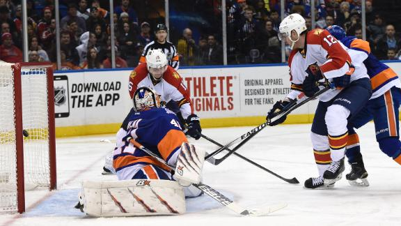 Video - Panthers Pull Away From Isles Late